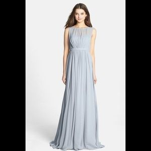 Jenny Yoo Vivienne Luxe Chiffon Bridesmaid Gown